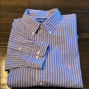 Polo Ralph Lauren casual dress shirt. 17/XL